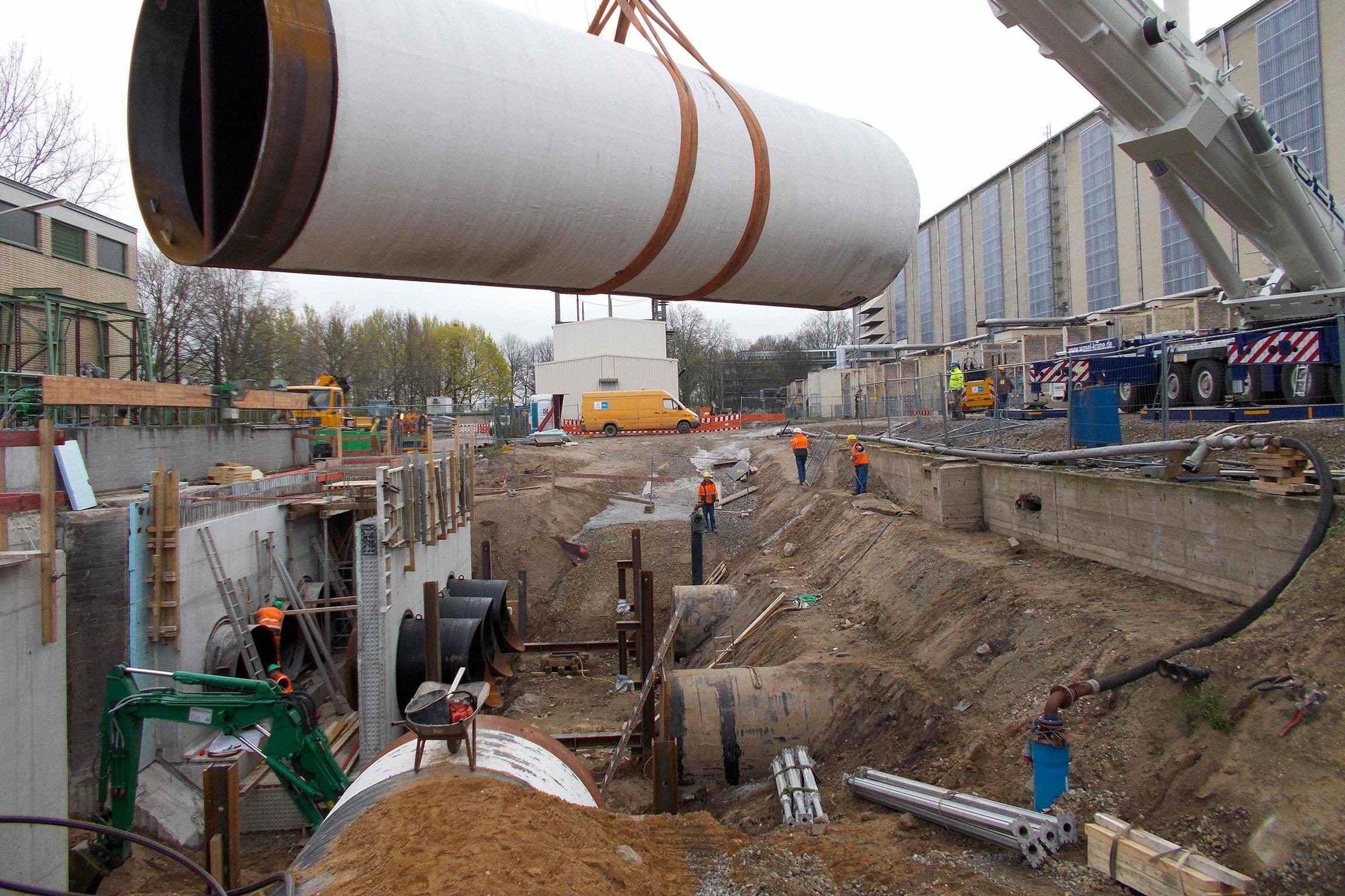 Kraftwerk Lausward – Düsseldorf