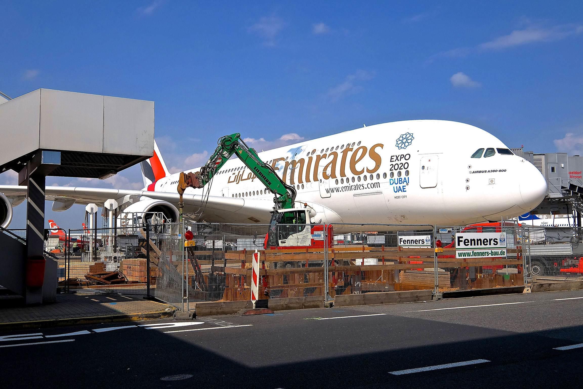 Medientrasse Flugsteig C – Flughafen Düsseldorf